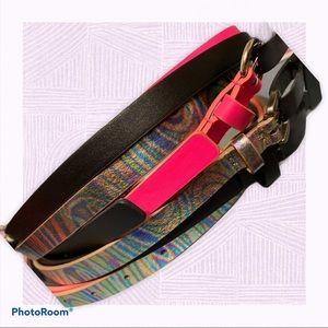 NWT NoBo 3 pack S/M skinny belts